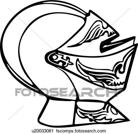 450x436 Clipart Of , Armor, Helmet, Medieval, Weapon, Knight, Weapons