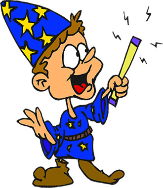 330x381 Medieval Clipart Wizard