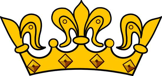 550x259 Crown Clipart Transparent