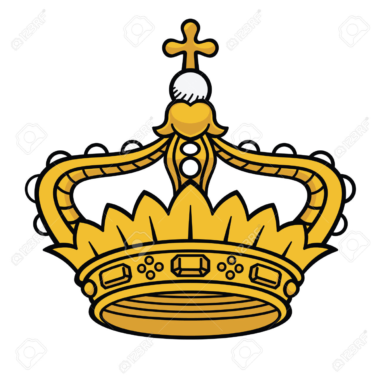 1300x1300 Crown Clipart Medieval Crown