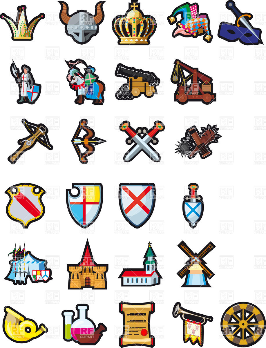 917x1200 Medieval Times Clipart