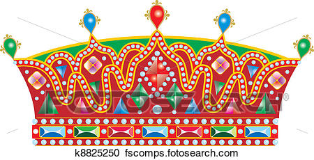 450x230 Clipart Of Medieval Slavic King Crown K8825250