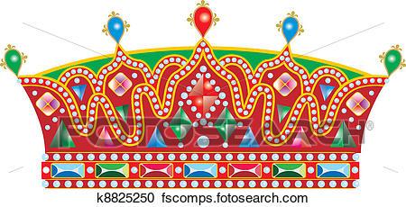 450x230 Clipart Of Medieval Slavic King Crown K8825250