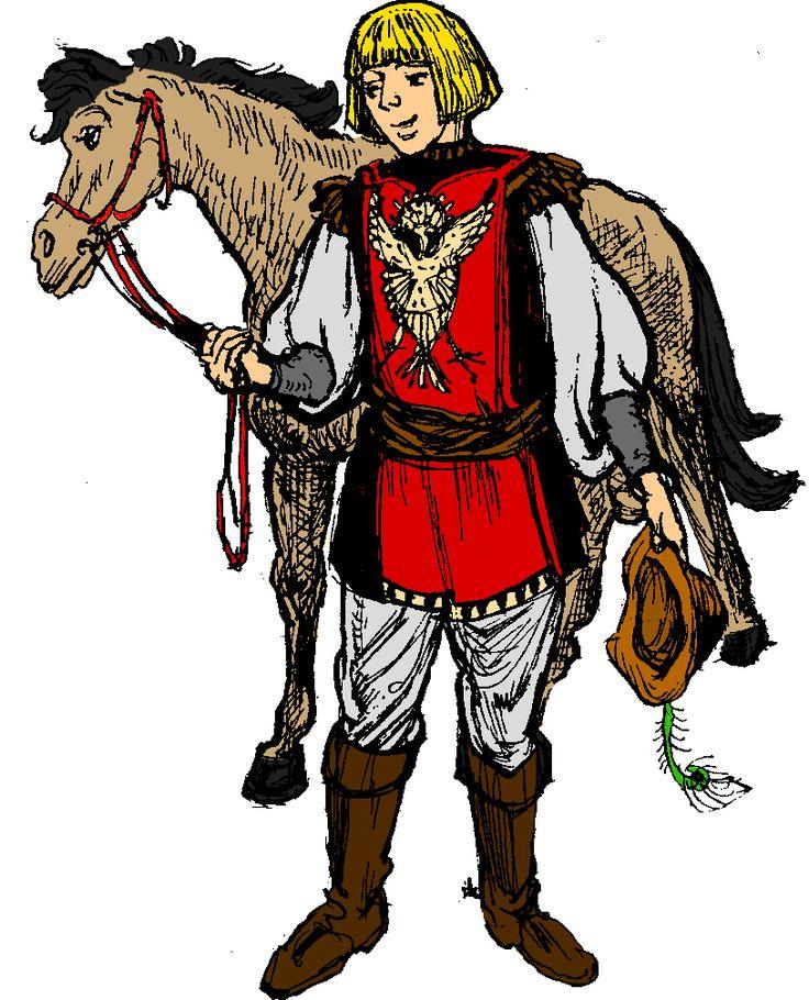 Medieval Queen Clipart