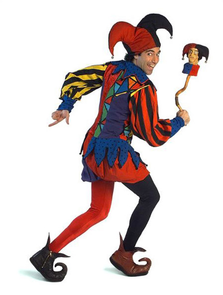 448x592 Medieval Jester Clipart