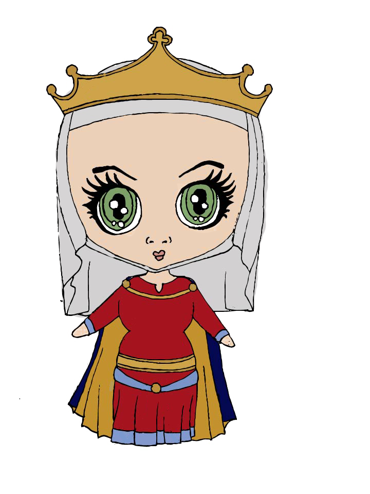 720x960 Medieval Queen By Emthehistorygirl