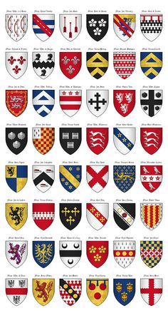 236x439 Coat Of Arms Types. Explore The Meanings Of Heraldry Symbols