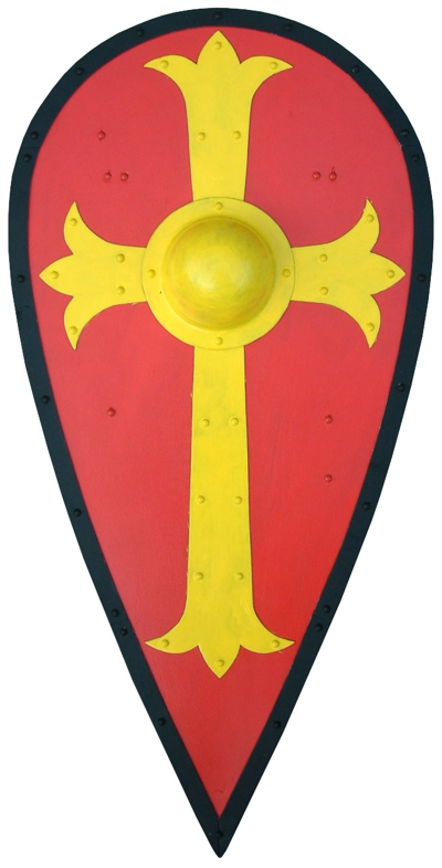 400x785 Medieval Swords And Shields Clipart