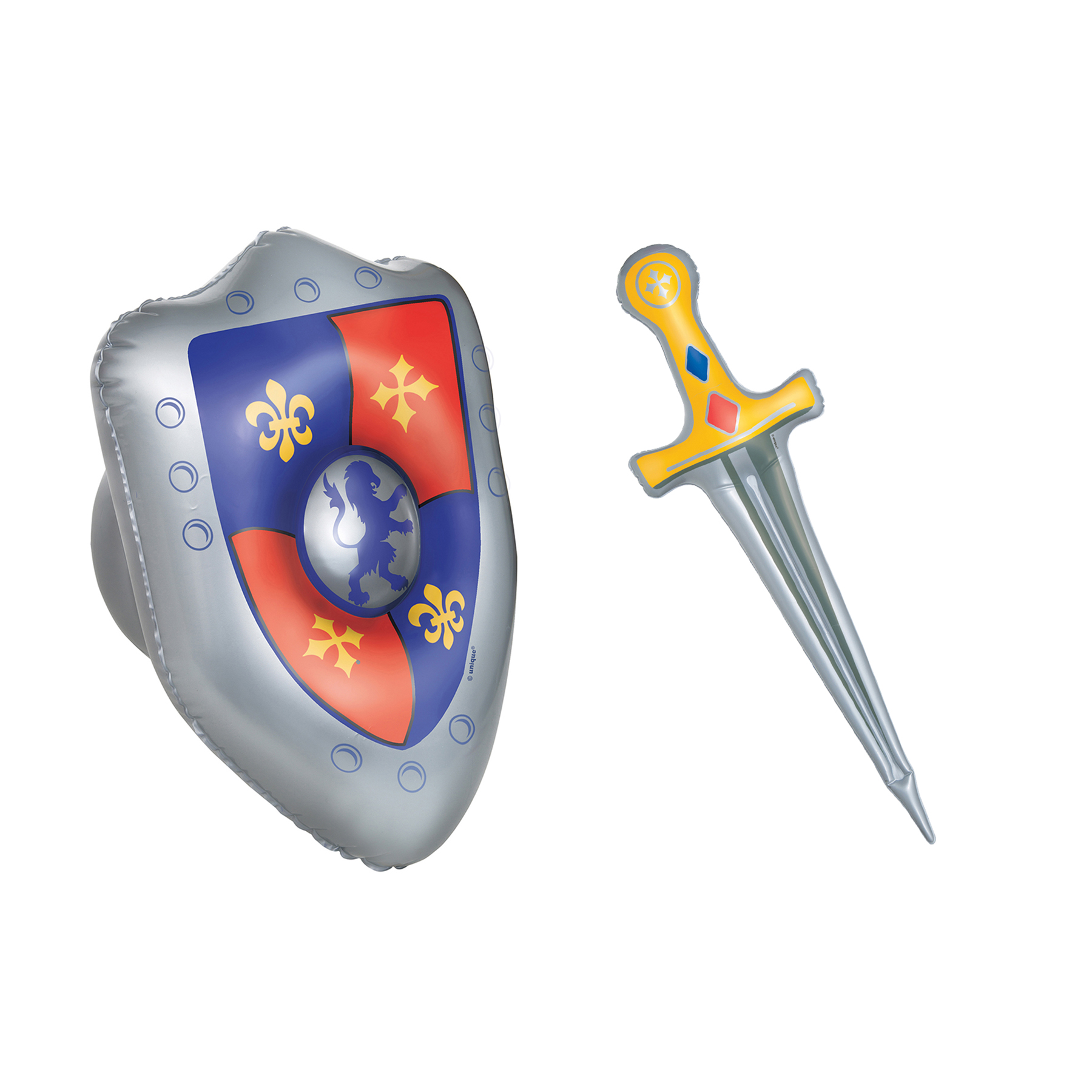 1800x1800 Inflatable Sword And Shield Medieval Party Supplies And Knight