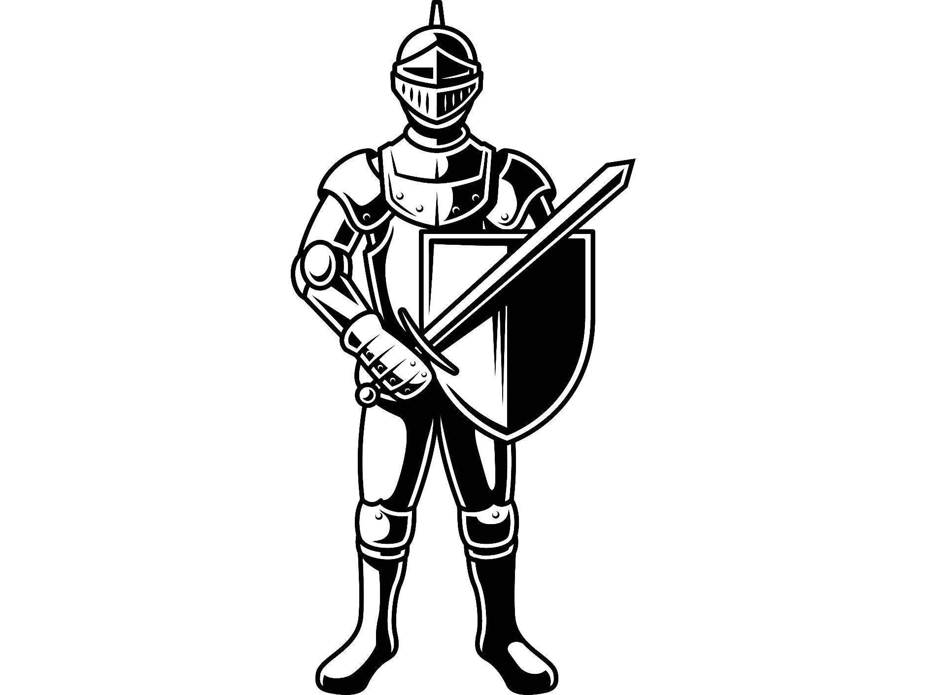 Medieval Sword And Shield | Free download on ClipArtMag