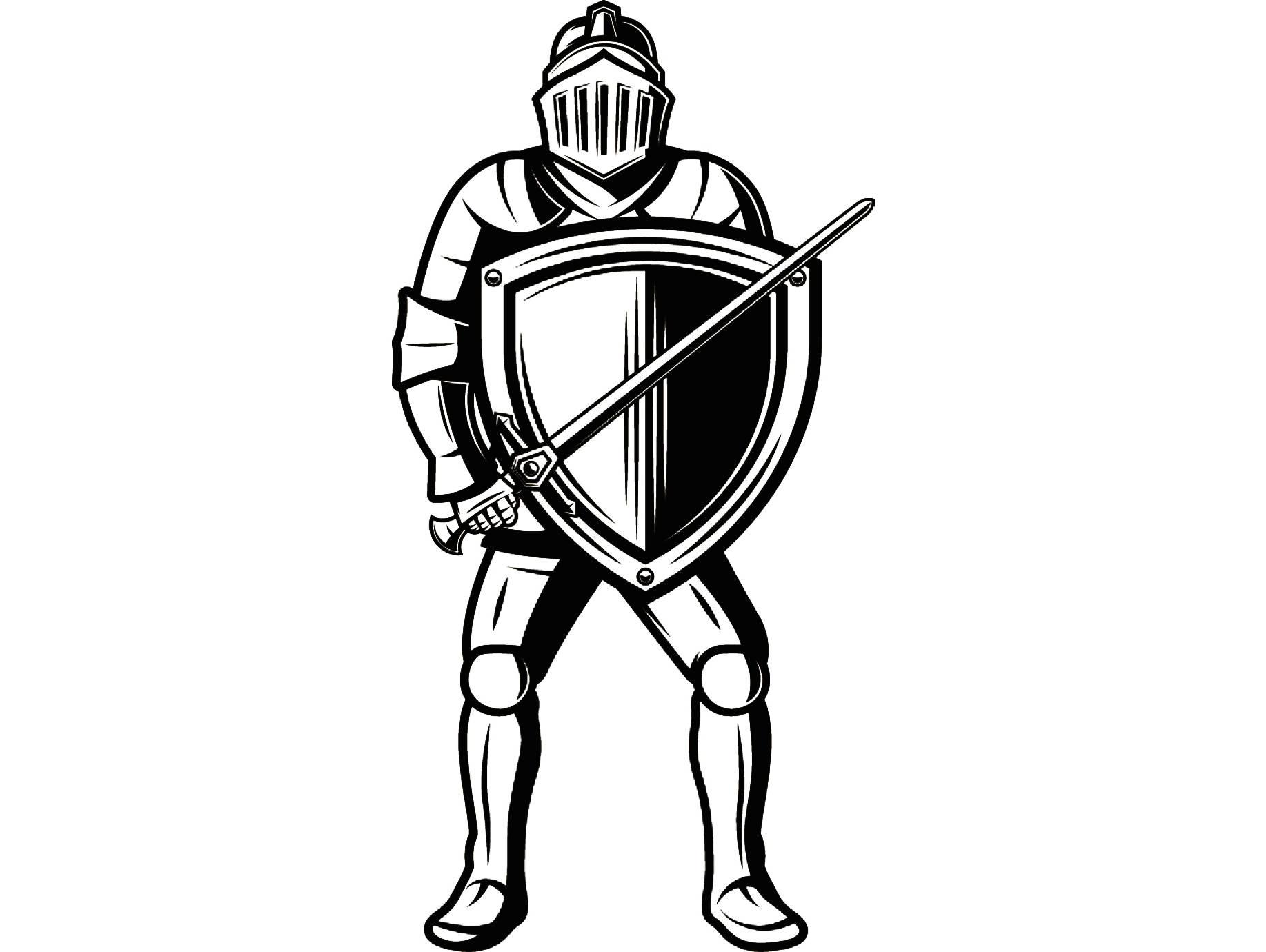 1835x1380 Knight 1 Metal Armor Helmet Sword Shield Monarch Military