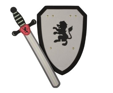 367x304 Knight Foam Sword And Shield Amazon.co.uk Toys Amp Games