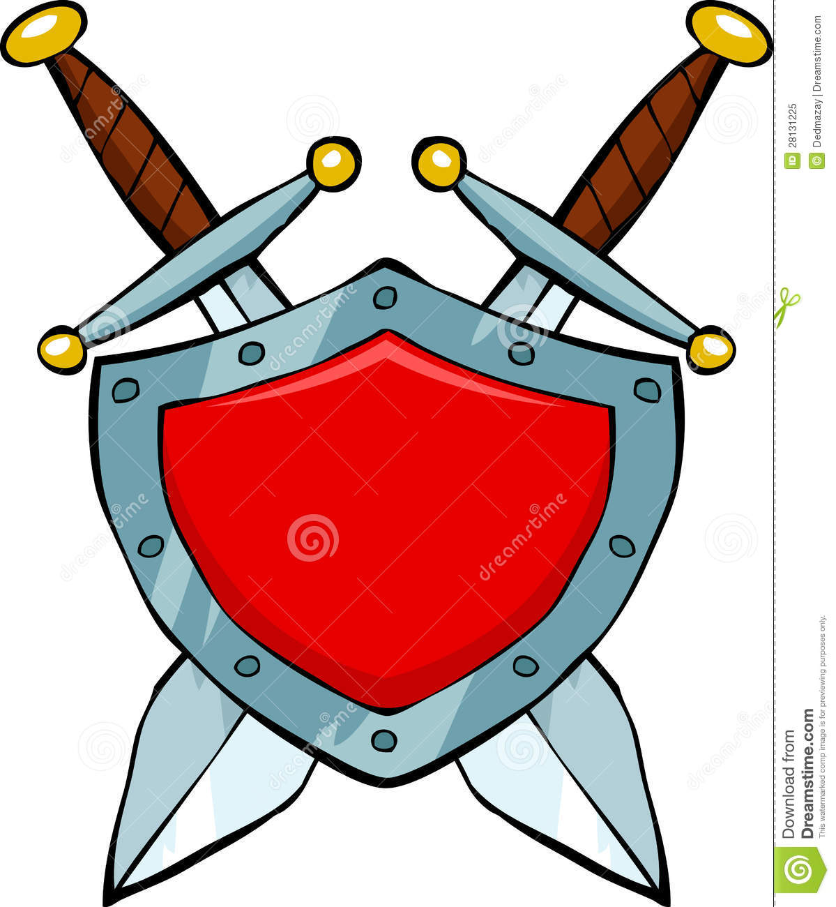 1199x1300 Medieval Swords And Shields Clipart