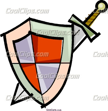 372x383 Shield Clipart Sword And Shield
