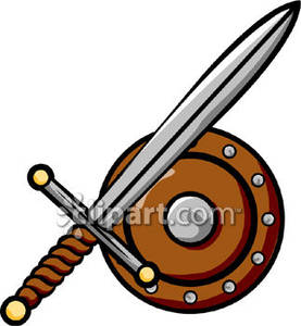 277x300 And Shield Clip Art Royalty Free Clipart Picture