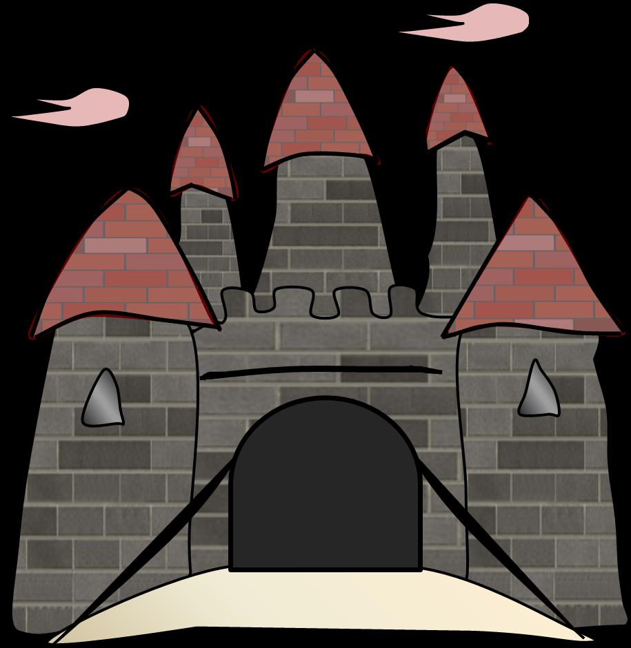 915x941 Top 75 Castle Clip Art