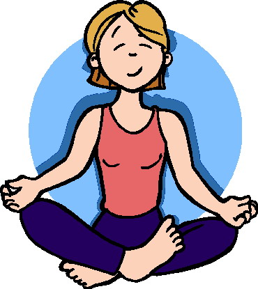 370x415 Guided Meditation Clip Art Cliparts