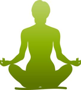 272x300 Meditation Clipart Image