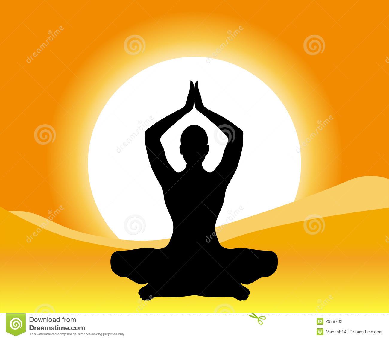 1300x1136 Meditation Silhouette Clipart