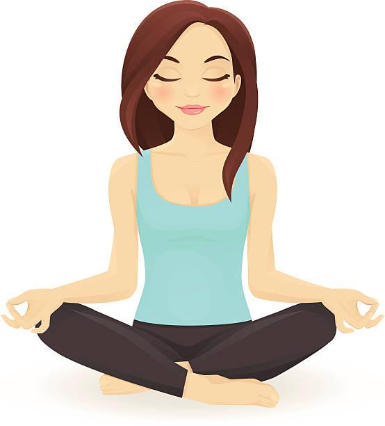 554x612 Meditation Clipart Yoga Class