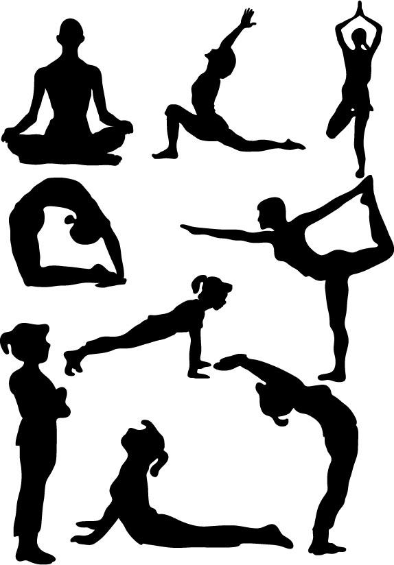 574x824 Yoga Cliparts