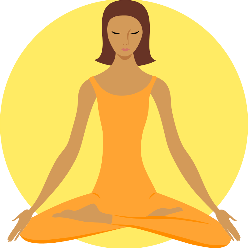 800x800 Chinese Meditation Cliparts 189275