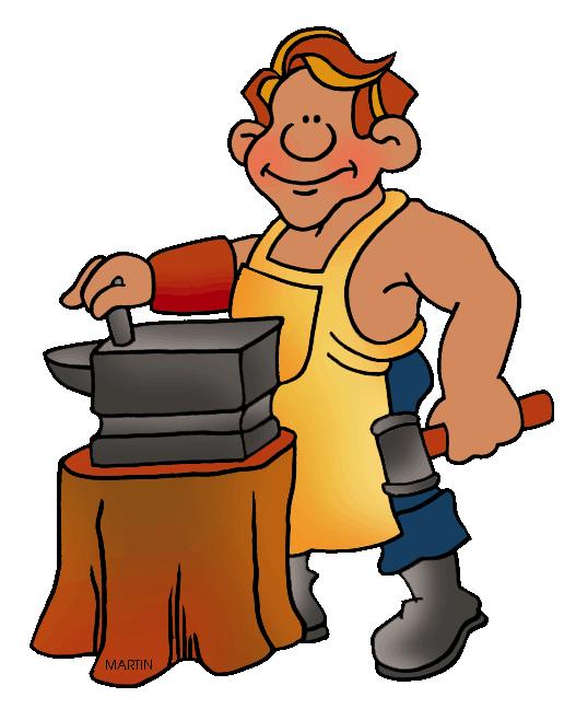527x648 Medieval Clipart Blacksmith