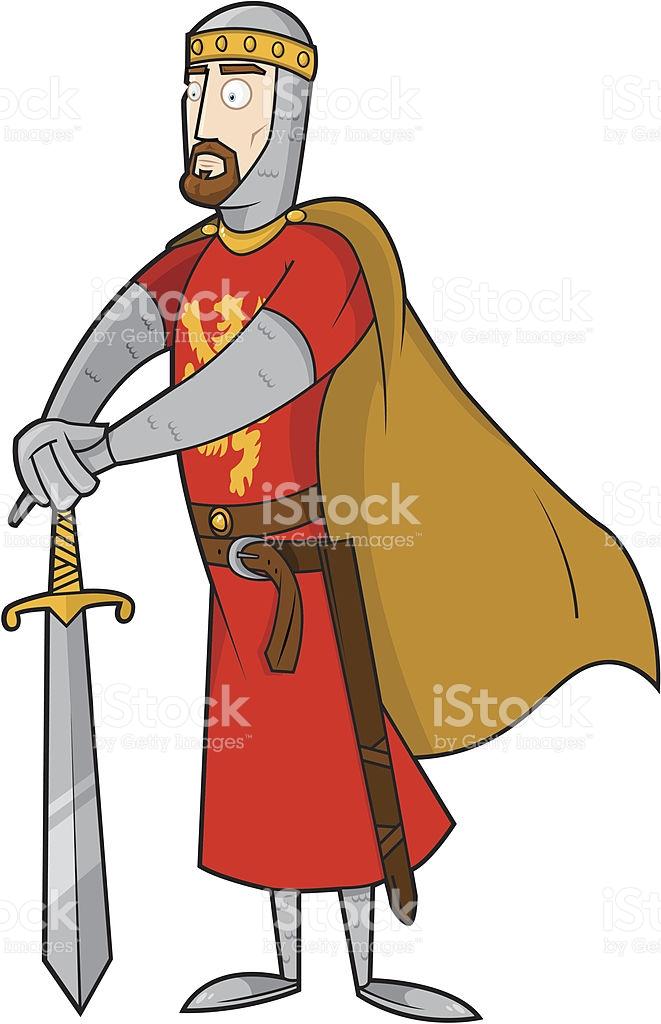 661x1024 Medieval Clipart King Arthur