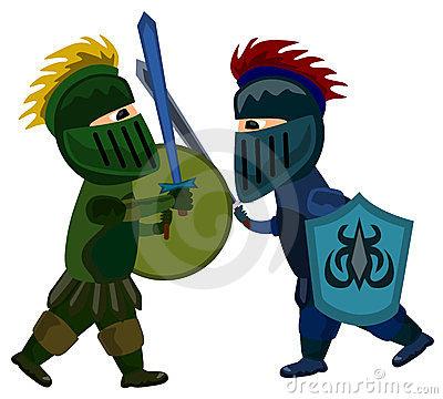 400x360 Battle Clipart Medieval