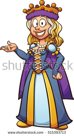 257x470 Medieval Clipart Queen England