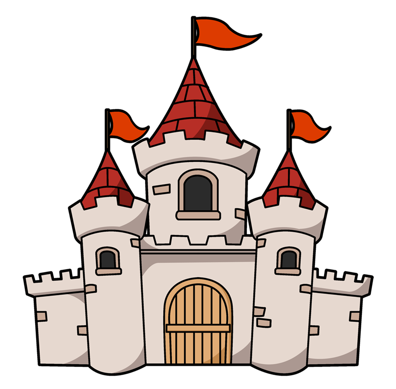 800x786 Free Medieval Castle Clipart
