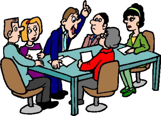 675x484 Committee Meeting Clipart