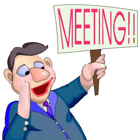 490x489 No Meeting Clipart