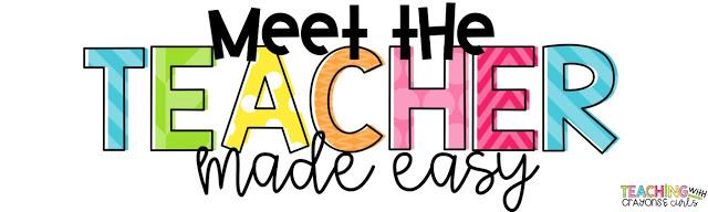 640x192 Graphics For Meet The Teacher Graphics