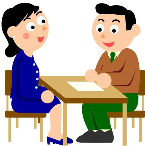 500x502 Parent Teacher Conference Clipart