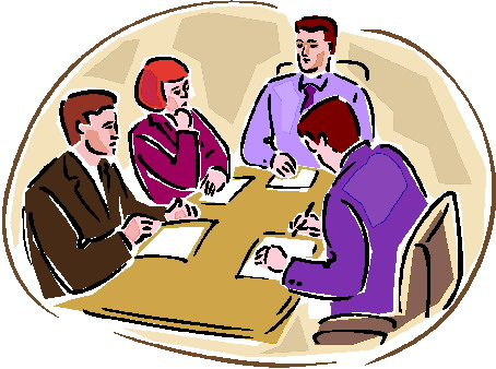 454x338 Meeting Clip Art