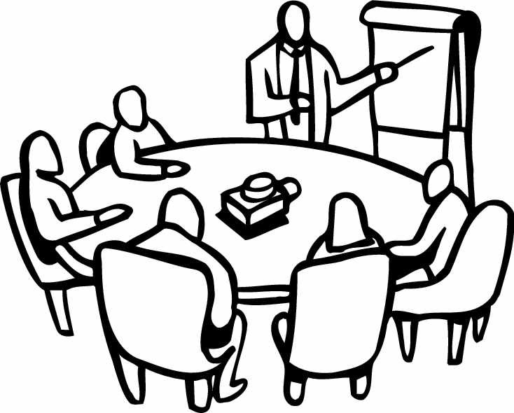 734x590 Free Meeting Clipart