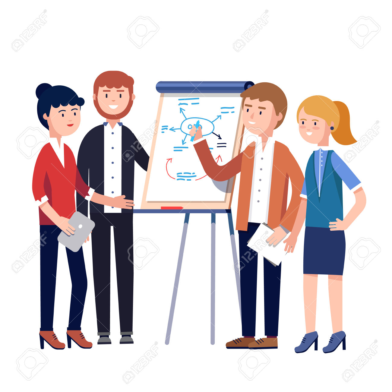 1300x1300 Meeting Clipart Project Planning