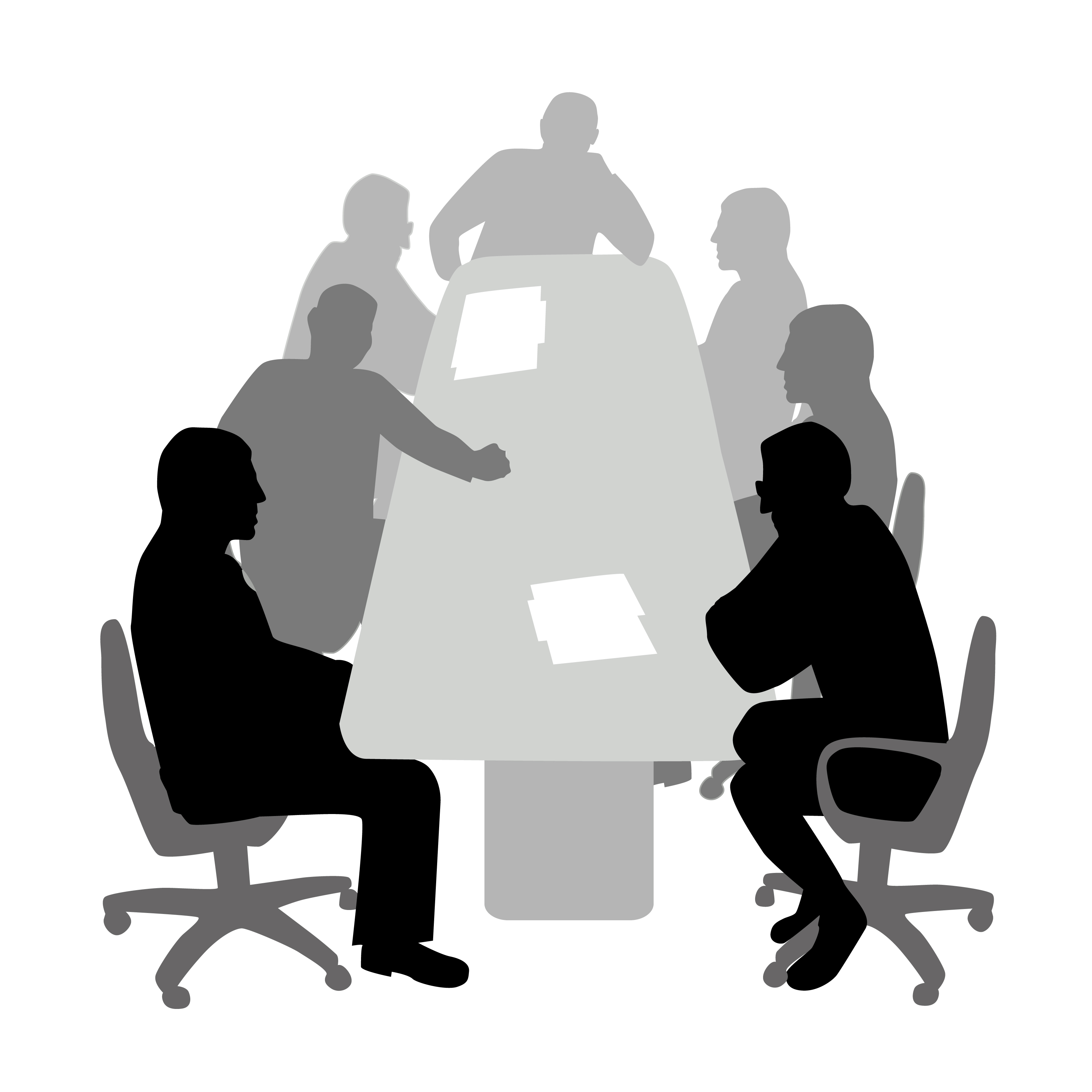 3300x3300 Meeting Clipart Role Responsibility