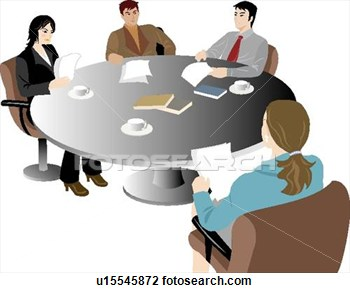350x293 Office Clipart Office Meeting