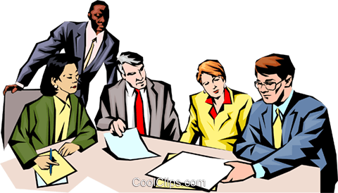 480x274 People Meeting Royalty Free Vector Clip Art Illustration Peop1021