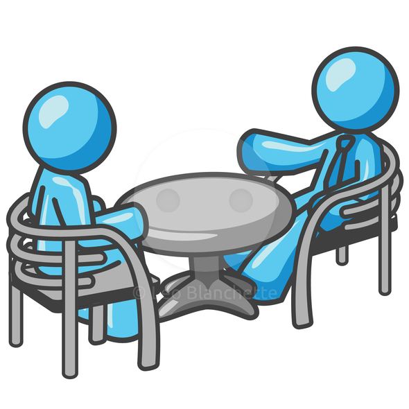 590x590 Business Meeting Clip Art Free Vector 4vector 2 Clipartcow 2 Image