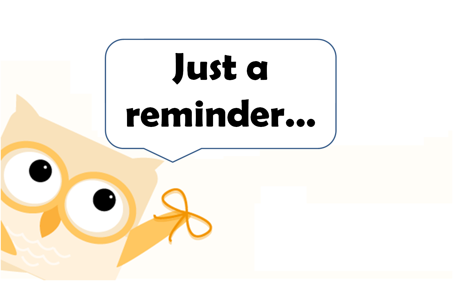 1448x901 Notice Clipart Friendly Reminder