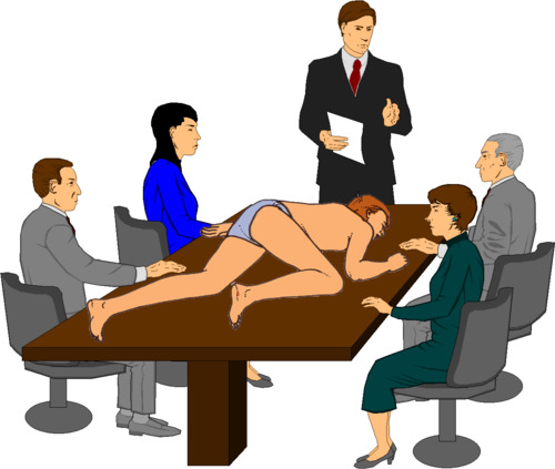 500x423 Clip Art For Meeting Client Clipart