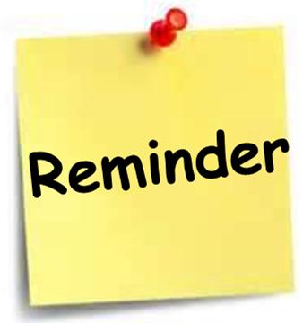 338x360 Reminder Tech Contact Meeting Tomorrow!