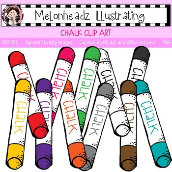 350x350 Melonheadz Chalk Clip Art