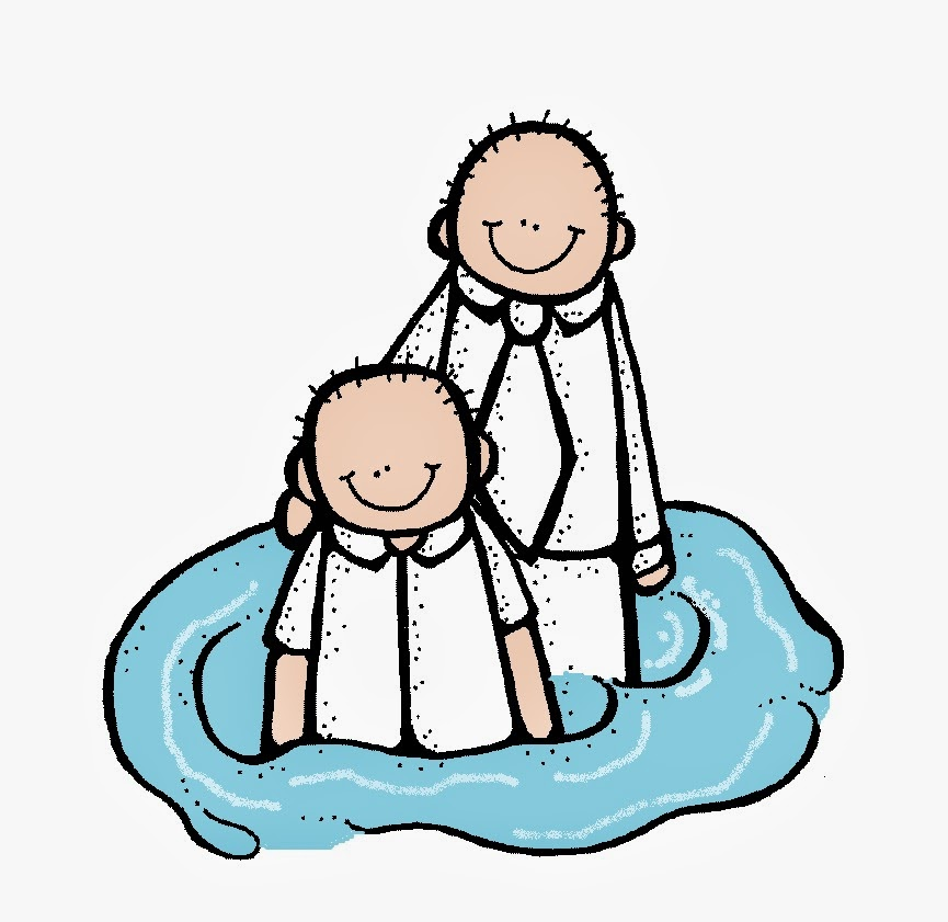865x841 Melonheadz Lds Illustrating Baptism Images