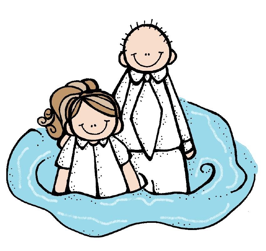 849x801 Baptism Lds Clipart