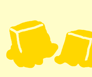 300x250 Butter Clipart Melted Butter