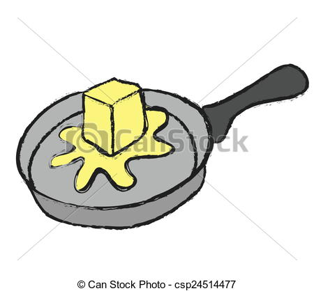 450x418 Butter Clipart Melted Butter